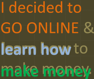 Going Online to Learn