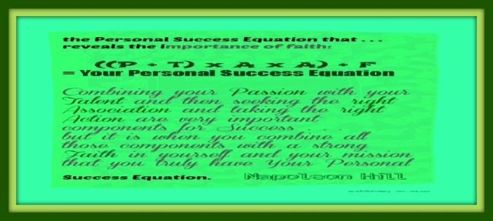 Formula 4 Personal Success